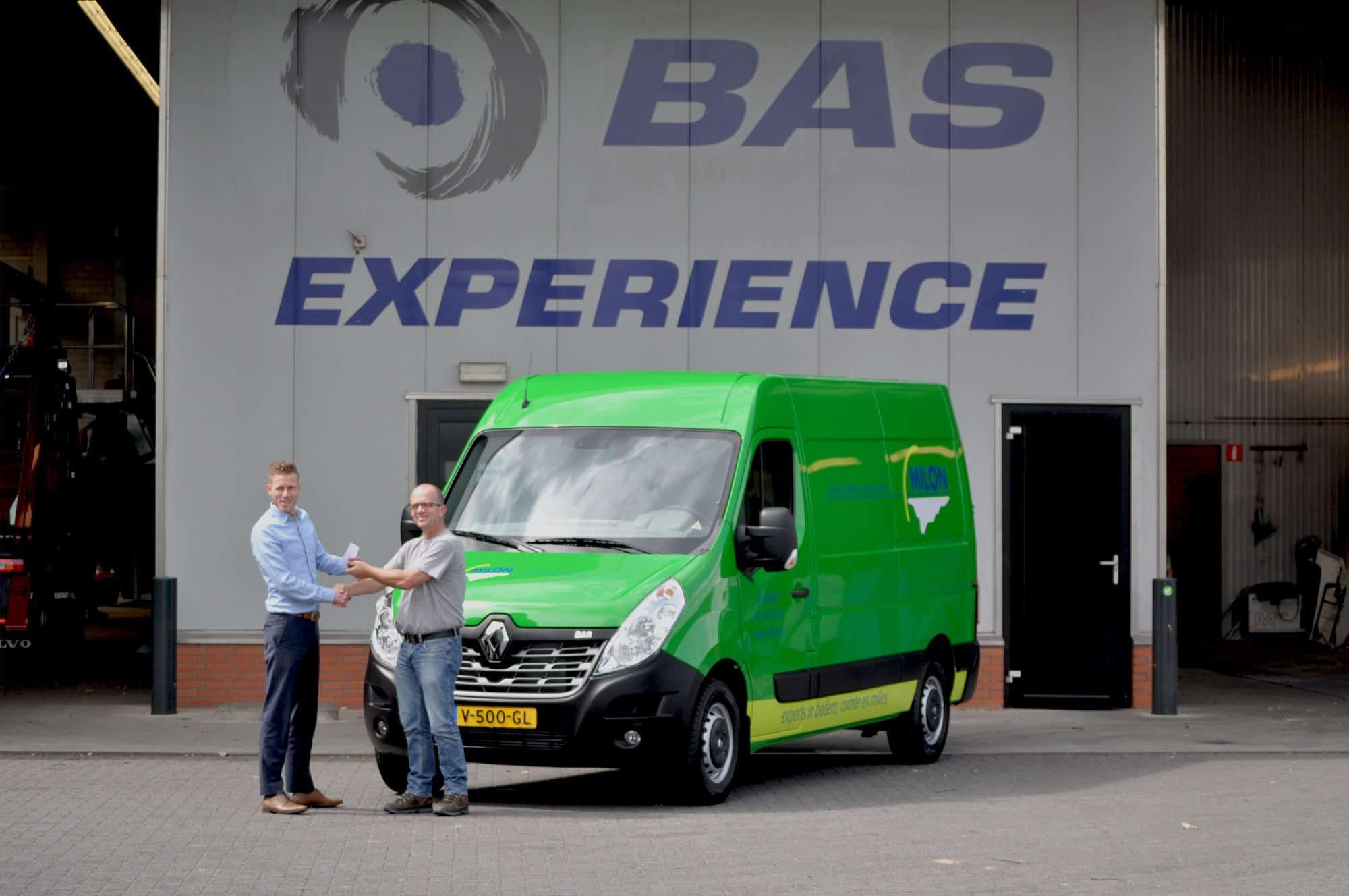 MILON neemt wederom nieuwe bedrijfswagen in gebruik